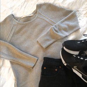 Athleta Side Zip Sweater- Size XS